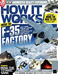 """""""How It Works is the action-packed science and technology magazine bursting with exciting information about the world around us. Be inspired by everything from the planet's most bizarre creatures and unusual phenomena to the incredible techno..."""