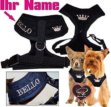 Talla XXS - M Chihuahua arnés del perro para el pecho softgesc ...