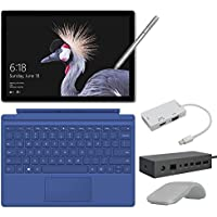 2017 New Surface Pro Bundle ( 6 Items ): Core i7 16GB 1TB Tablet, Surface Dock, Surface Type Cover Blue (2016), Surface Pen Silver, Surface Arc Mouse Light Grey, Mini DisplayPort Adaptor
