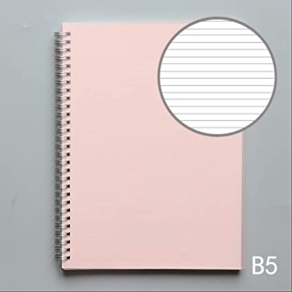 B5 Color Pp Cover Grid/Blank/Dot/Line Bobina Notebook ...