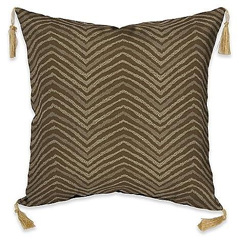 Marvelous Amazon Com Bombay Outdoors Zebra Throw Pillow With Tassels Uwap Interior Chair Design Uwaporg