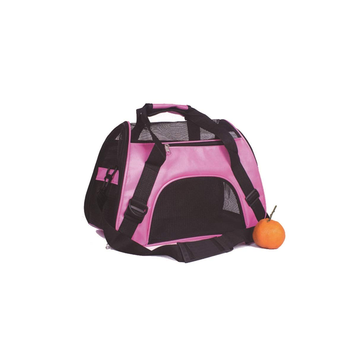 Pet Carrier, Cat Out Carrier, Carrying Bag, Red, Black, bluee, Light bluee, Green (color   Pink, Size   M)