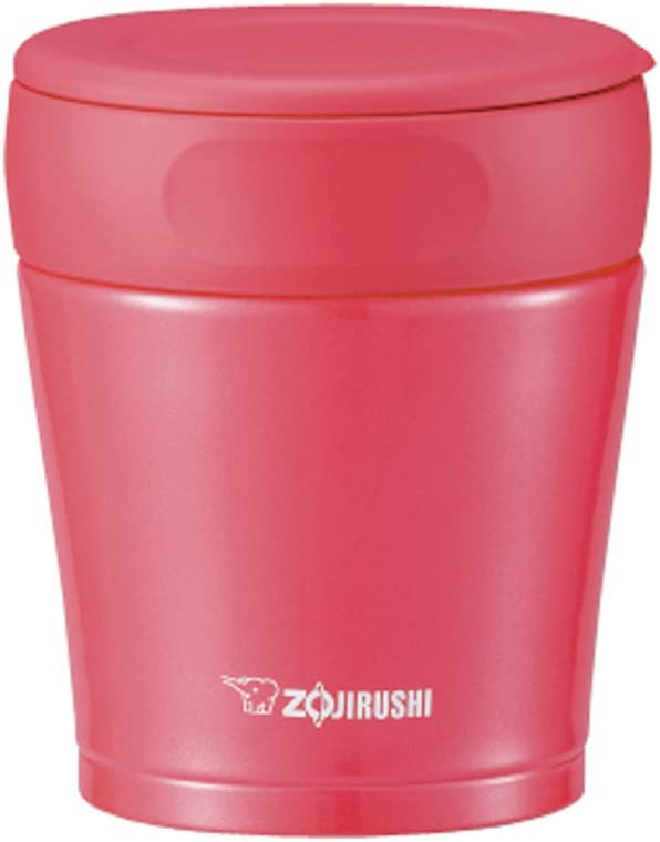 Zojirushi stainless steel food jar 0.26L and [does not decompose] raspberry pink SW-GB26-PV