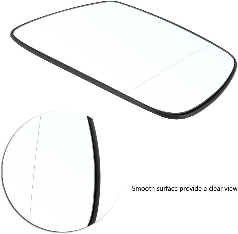 Right Door Side Wing Mirror Glass Heated Fit for 2005-2010 Jeep Grand Cherokee