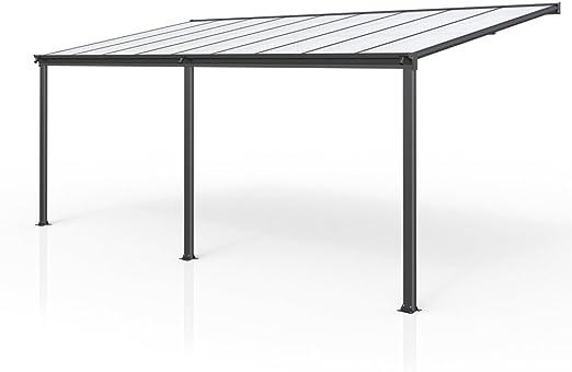 Techo de aluminio para terraza y pérgola, 557 x 303: Amazon.es ...