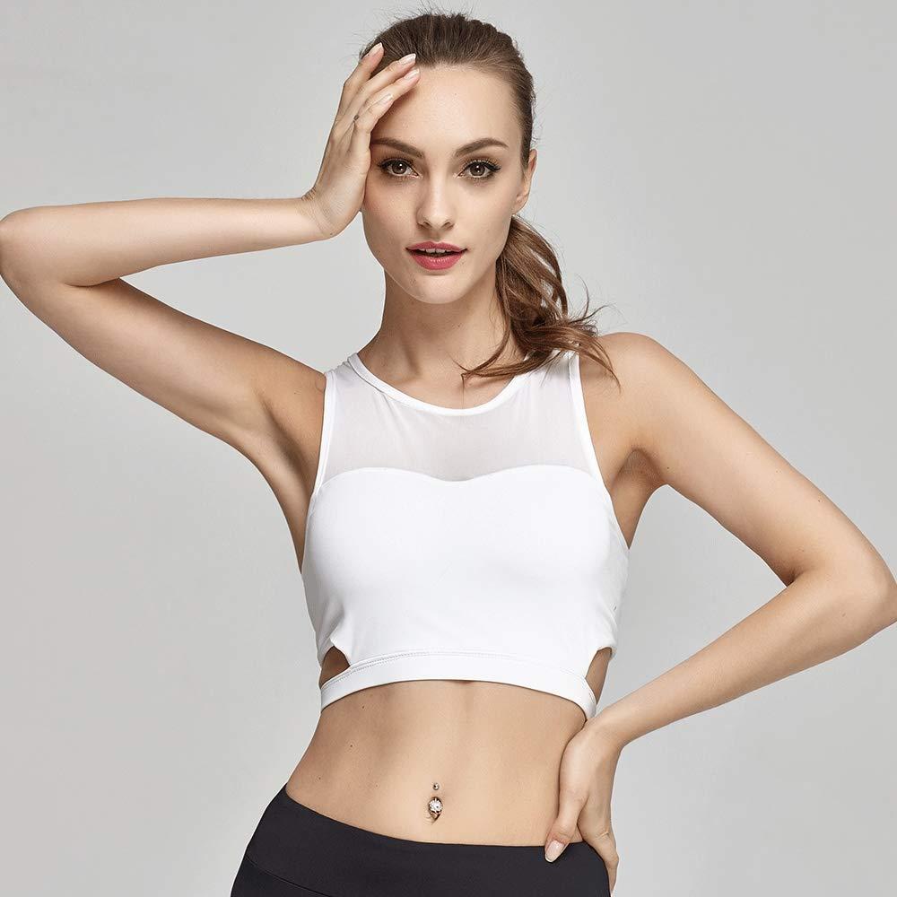 jiushixw Fitness Profesional Yoga Sujetador Deportivo Costura de ...