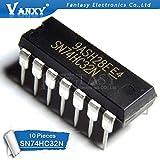 10PCS SN74HC32N DIP14 SN74HC32 DIP 74HC32N 74HC32
