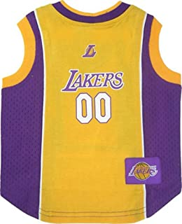 Pets First Los Angeles Lakers Dog Jersey