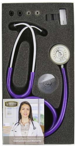 Prestige Medical Clinical Lite Stethoscope, Purple