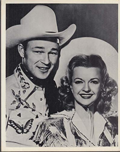 Roy Rogers & Dale Evans in costume