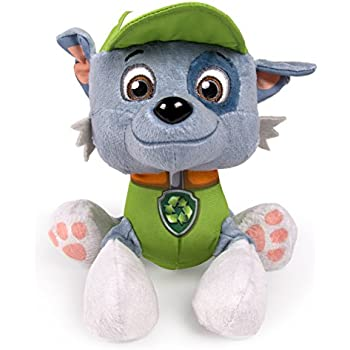 paw patrol plush pup pals rocky animals figures amazon canada