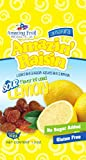 Amazin' Raisin Sour Lemon Flavor Infused Raisins 1.3-ounce Bag (Case of 50)