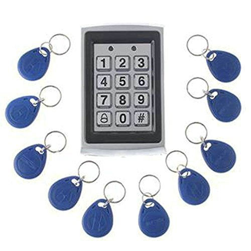 ENNIO Nueva Llegada Metal Cerradura para Puerta de Entrada RFID Sistema de Control de Acceso + 10Llaves