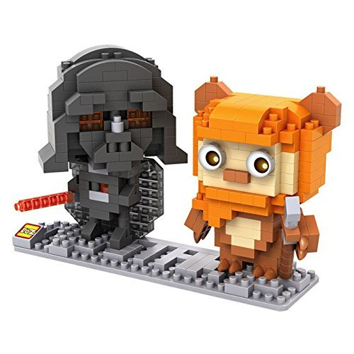 Darth Vader & Ewok Building Kit