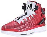 adidas Performance Men's D Rose 6 Boost Basketball,White/Scarlet/Black,12 M US