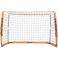 Outroad Portable Soccer Goal - Practice Bow Style Soccer...