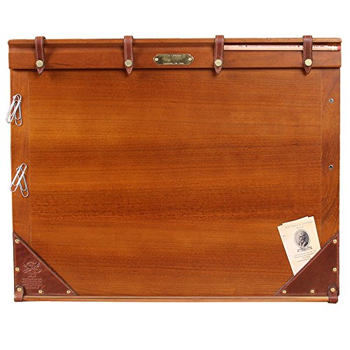 Writing Board Lap Desk Laptop American Cherry Leather Accents USA Made No.10 by Col. Littleton