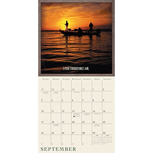Off the Hook Fishing 2017 Wall Calendar