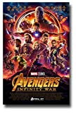 (US) Avengers Infinity War Poster Movie Promo 11 x 17 inches Main