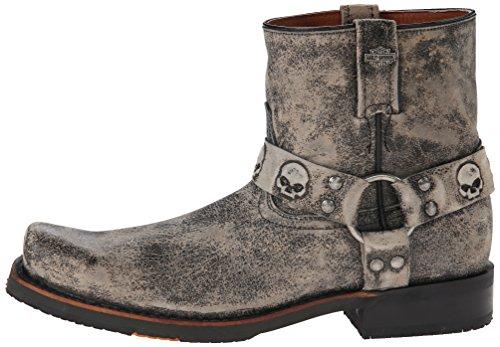 Harley-Davidson Men's Thornton Harness Motorcycle Boot, Slate, 11.5 M US