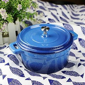 Cazo Cacerolas EsmalteOlla de leche Olla olla Nuevos productos Olla de hierro fundido Shabu Shabu 12Cm14Cm