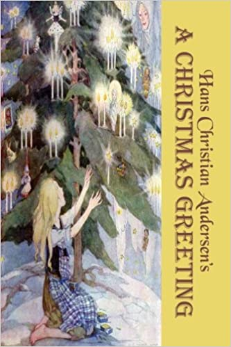 A Christmas Greeting: Fourteen Magical Christmas Stories by Hans Christian Andersen (Original b&w illustrations) Download Epub Now