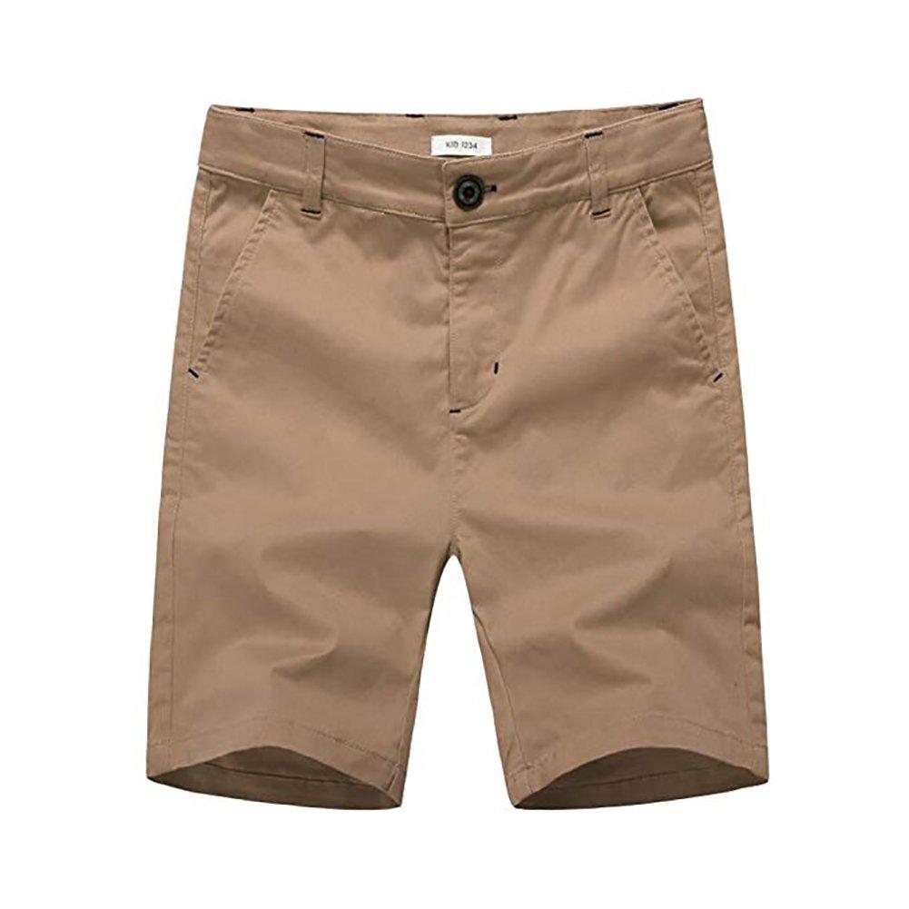 BASADINA Pantaloncini Ragazzo - Pantaloncini da Spiaggia in Cotone Chino Estivi Con Vita Regolabile, 4-14 Anni