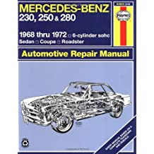 Mercedes Benz 230, 250 and 280, 1968-1972