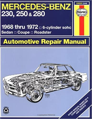 Mercedes benz 230 250 and 280 1968 19726 cylinder sohcsedan mercedes benz 230 250 and 280 1968 19726 cylinder sohcsedan coupe roadster automotive repair manual john haynes p g strasman 9780856963469 fandeluxe Images