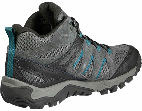 Merrell Outmost Mid Vent GTX W hiking shoes grey blue SBueZF7