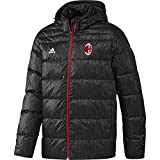 Adidas Men's AY2527 AC Milan Down Jacket (Black, Small)