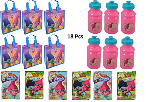 Trolls Assorted Party Favors 18 Pieces