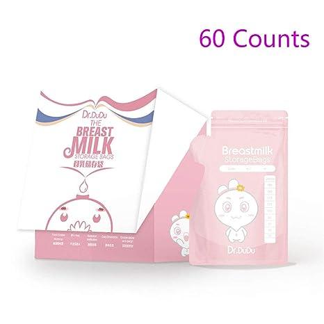 Aprilfun 60 cuenta bolsas de almacenamiento de leche materna ...
