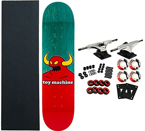 Toy Machine Complete Pro Skateboard Monster (Assorted Colors) 8.0""