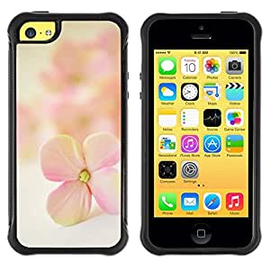 Suave TPU GEL Carcasa Funda Silicona Blando Estuche Caso de protección (para) Apple Iphone 5C / CECELL Phone case / / Flower Petal Blooming Nature /