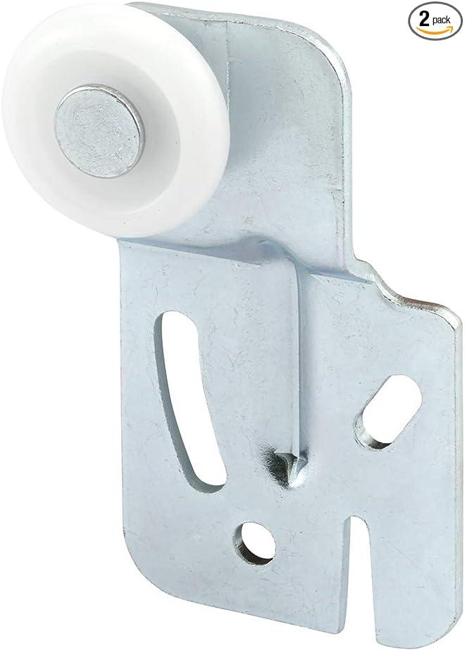 Slide Co 16216 F Closet Door Roller Front 1 4 Inch Offset 7 8 Inch Nylon Wheel Pack Of 2 Screen Door Hardware Amazon Com