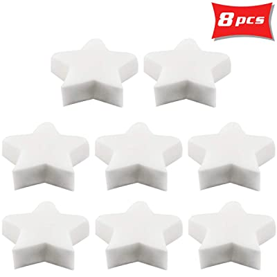 Owevvin 8 Pack Absorbing Sponge for Swimming Pool, Spa and Hot Tub, 4.33 x 4.33 x 1.18 Inch : Garden & Outdoor