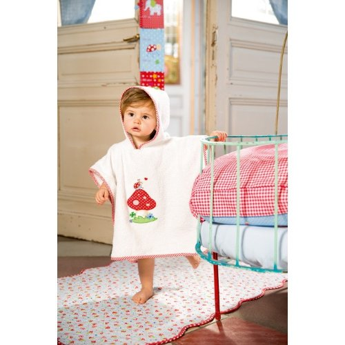 Baby Charms Poncho Handtuch Bug, 55x 46cm, Modell # 11245