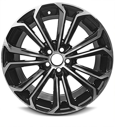 New 17 x 7 Inch 5 Lug (14-16) Toyota Corolla OEM Replica Full-Size Spare Replacement Aluminum Wheel Rim 17×7 5×110 +35mm Offset