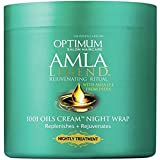 Softsheen Carson Optimum Amla Legend 1001 Oils Cream Night Wrap, 4 oz.