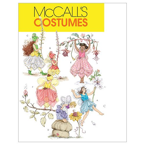 McCall's Patterns M5904 Children's/Girls' Fairy Costumes, Size CL (6-7-8)