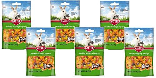 (Kaytee Healthy toppings Papaya,2.5 oz (6 Pack))