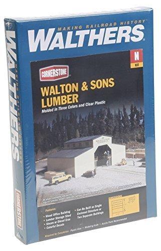 Walthers Cornerstone Wallton & Son Lumber Company by Walthers Cornerstone