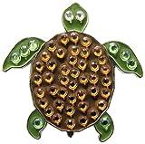 Navika Golf Turtle Swarovski Crystal Ball Marker with Hat Clip