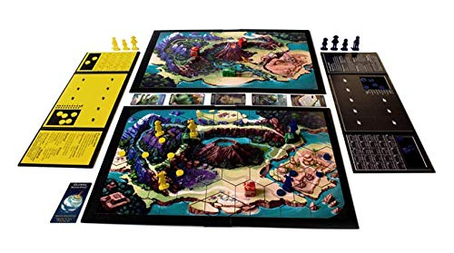 Golden Bell Studios in A World of Dinosaurs Board Game, White