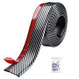 Yescom 8.2ft/250cm Universal Carbon Fiber Front Bumper Lip Strip Splitter Spoiler Side Skirt for Car Truck