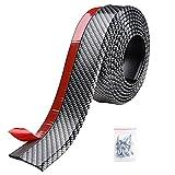 #1: Yescom 8.2ft/250cm Universal Carbon Fiber Front Bumper Lip Strip Splitter Spoiler Side Skirt for Car Truck