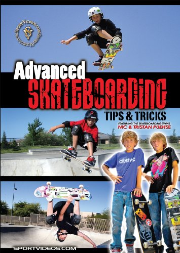 (Advanced Skateboarding: Tips and Tricks DVD featuring Nic and Tristan Puehse)