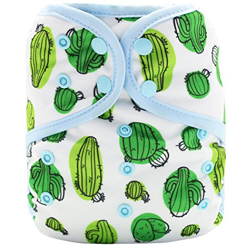 Happy Flute Coffee Fiber Baby Cloth Diaper