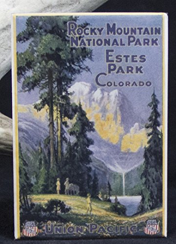 Rocky Mountains National Park Refrigerator Magnet. Estes Park (Estes Park Rocky National Mountain Park)